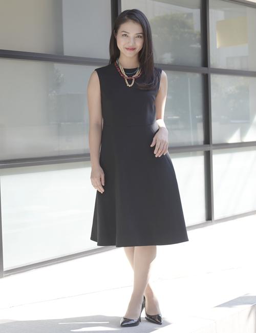 YOKO CHAN フレアドレス