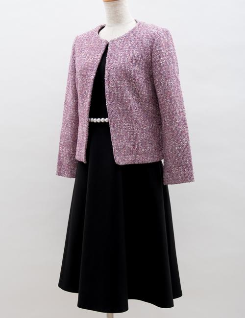 YOKO CHAN,スーツ,パール