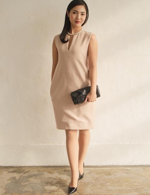 YOKO CHANコクーンドレス