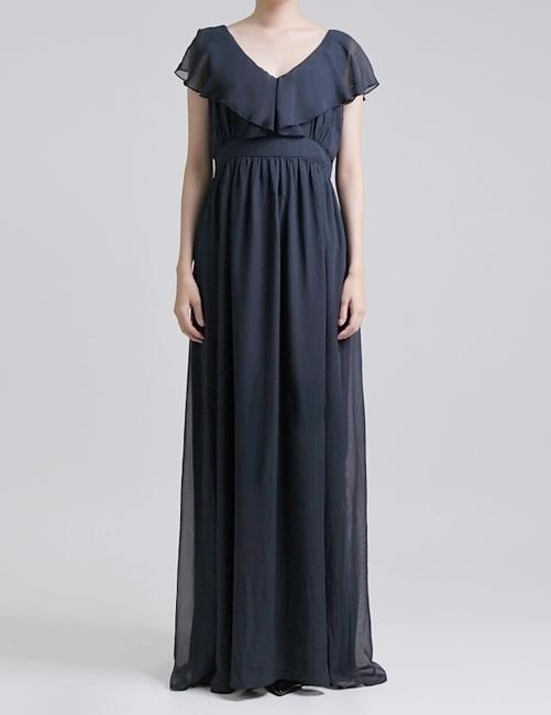 ドレス,ネイビー